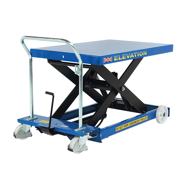 This is an example of what some scissor lift platforms may look like.